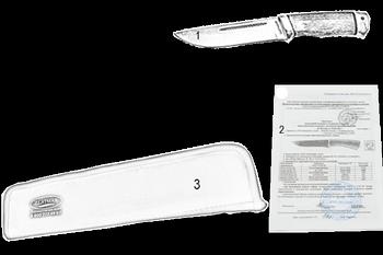 Комплектация Нож Овощной (95Х18, Орех, Алюминий)